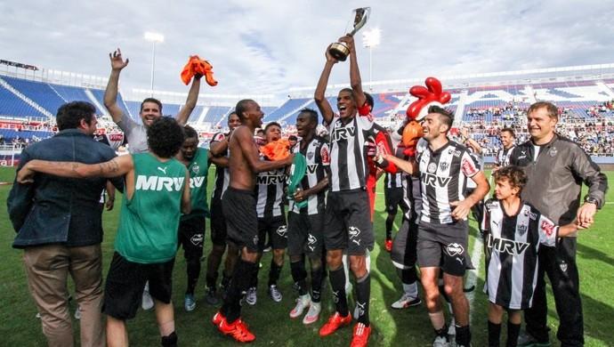Jogadores do Atlético-MG, campeões do Torneio da Flórida (Foto: Divulgação / Atlético-MG)