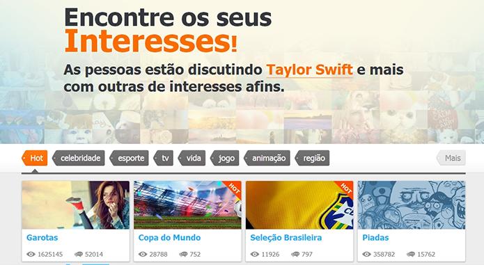 Postbar é um fórum alimentado por resultados de busca dos usuários (Foto: Reprodução/Paulo Alves)