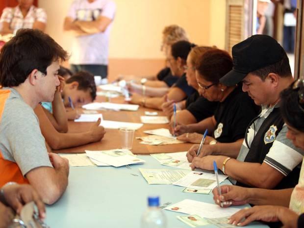 Caravana Pro Paz Cidadania realizou serviços gratuitos de emissão de documentos e atendimento jurídico à população de Xinguara.  (Foto: Eliseu Dias/Ag. Pará )
