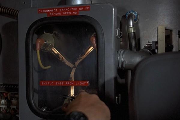 O Capacitor de Fluxo de De Volta Para o Futuro (Foto: Reprodução)