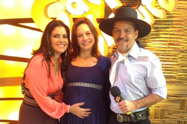 Shana, Juliana Spanevello e Neto  (Foto: Divulgação/RBS TV)