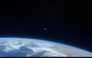 Espaço | A Estação Espacial Internacional transita pela superlua