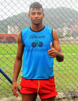 Souza, zagueiro do Jabaquara (Foto: Lincoln Chaves)