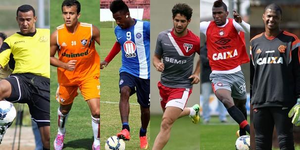 Criciúma, Fluminense, Bahia, São Paulo, Flamengo e Atlético-PR jogam nesta quarta com exibição da Globo e de suas afiliadas (Foto: globoesporte.com)