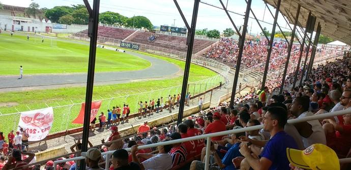 Estádio Alfredo de Castilho, Alfredão, Noroeste, Série A3 (Foto: Sérgio Pais)