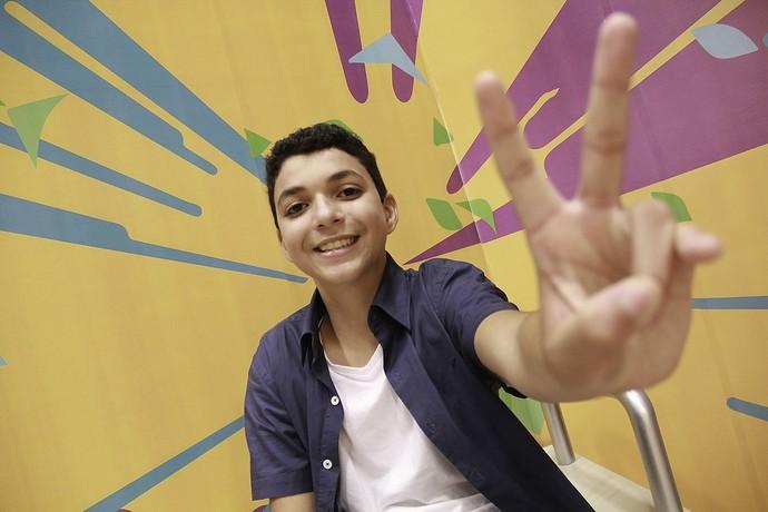 Wagner Barreto The Voice Kids (Foto: Guilherme Artigas/ RPC)