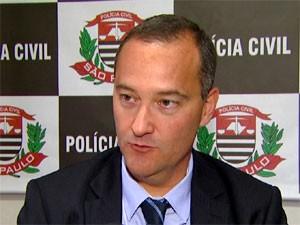 Delegado Cássio Vita Biazolli responsável pelo 7° Distrito Policial de Campinas (Foto: Reprodução/ EPTV)