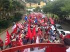 Centrais sindicais fazem protesto nesta quarta (16) em Florianópolis