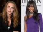 Cara Delevingne e Naomi Campbell brigam por Rihanna, diz jornal