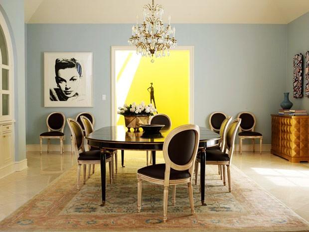 decoracao de sala retro:Décor do dia: sala de jantar vintage e atual – Casa Vogue