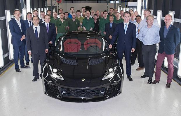 Lotus Evora 400 (Foto: Divulgação)