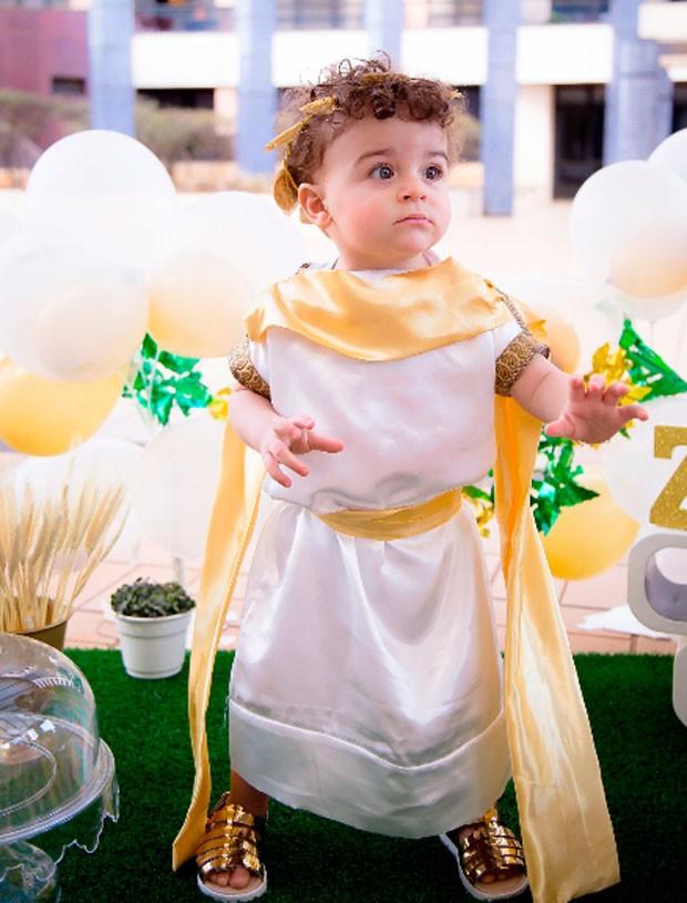 Zeus, filho de Rebeca Gusmão (Foto: Gabrielle Aine)