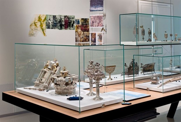 Objetos exibidos no Museu Judaico de Viena, na Áustria (Foto: Divulgação/Klaus Pichler/Jewish Museum Vienna)