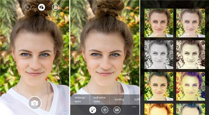 Lumia Selfie ganhou novidades e agora suporta selfie automático e disparador Bluetooth (Foto: Divulgação/Windows Store)