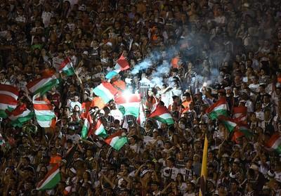 Torcida Fluminense Juiz de Fora (Foto: André Durão/ GloboEsporte.com)