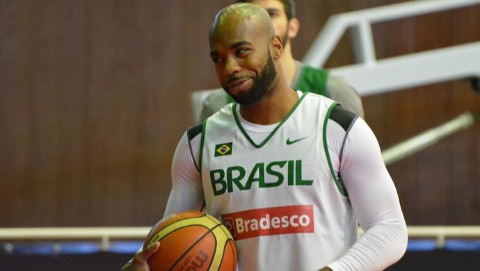 Larry Taylor seleção brasileira (Foto: Bruno Rocha)
