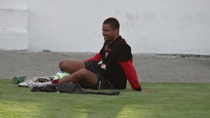 Júlio César, goleiro do CRB (Foto: Denison Roma  /GloboEsporte.com)