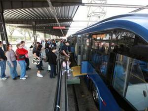 Ônibus em Curitiba (Foto: Divulgação/Prefeitura de Curitiba)