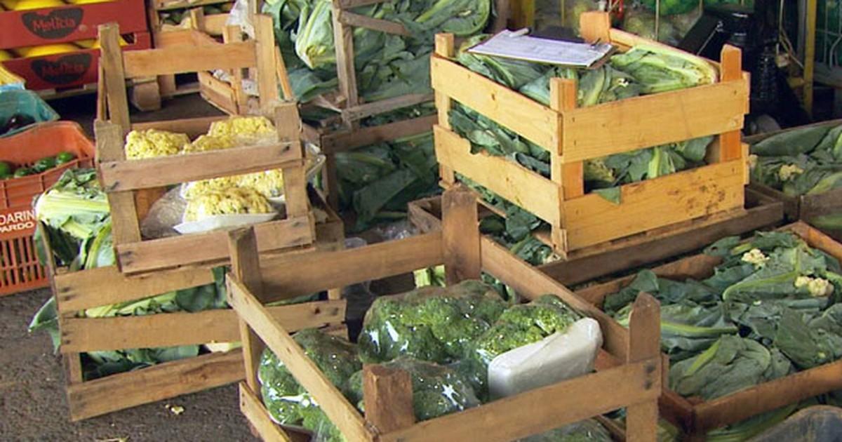 Estiagem faz preço de hortaliças disparar em Poços de Caldas, MG - Globo.com