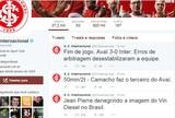Diretoria do Inter solta nota de repúdio às postagens do twitter oficial do clube