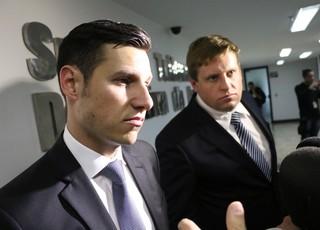 grêmio stjd racismo advogado gabriel vieira (Foto: Diego Guichard/GloboEsporte.com)