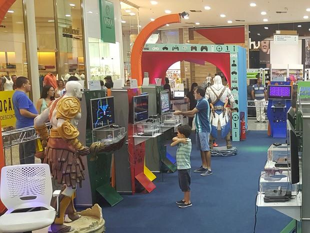 Exposição 'Super Games' traz jogos clássicos e modernos para Caruaru (Foto: Divulgação/Assessoria)