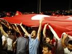 Premiê turco diz que risco de 2ª tentativa de golpe ainda não terminou