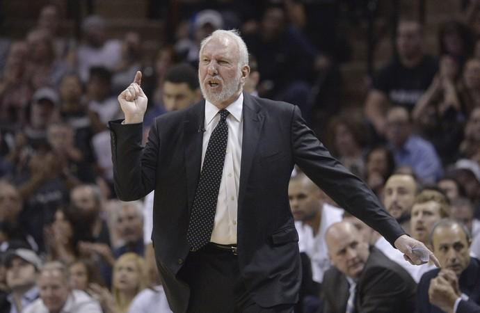 Gregg Popovich, San Antonio Spurs nba basquete (Foto: AP)