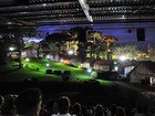 Primeiras noites do 'Som e Luz' têm público de 1,2 mil na Festa da Uva