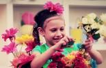 Fantasia infantil de vaso de flor você aprende no 'Mães à Obra'