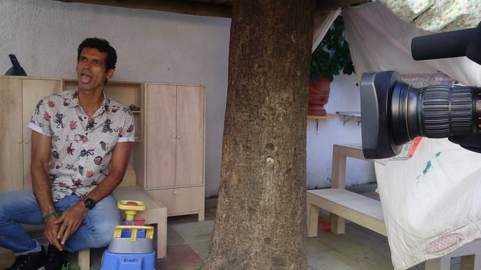 Bastidores Aprovado Dia das Crianças (Foto: TV Bahia)