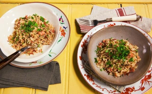 Cozinha Prtica - 4 Temporada - Ep. 6 - Arroz de carreteiro (Foto: Editora Panelinha/Gilberto Jr.)