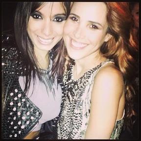 Anitta e Wanessa em boate em São Paulo (Foto: Instagram/ Reprodução)