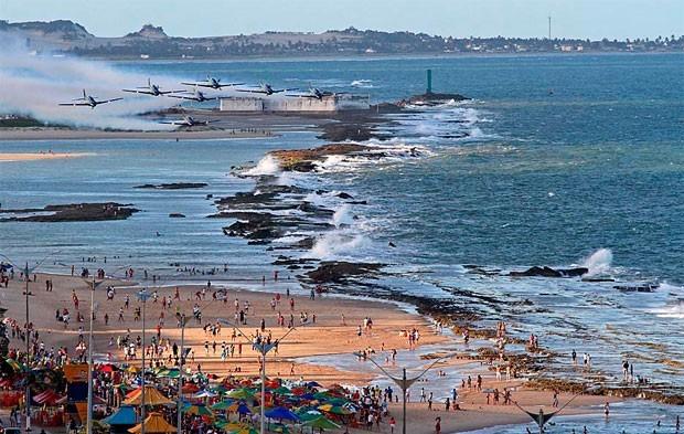 Estrutura será montada em área próxima à Fortaleza dos Reis Magos, na Praia do Forte (Foto: Canindé Soares/ Divulgação)