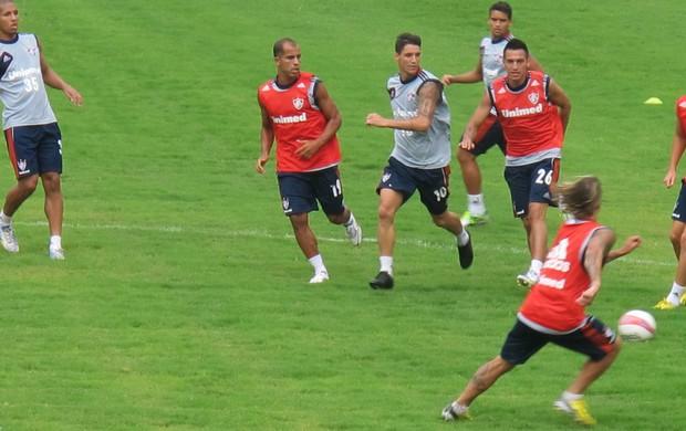 Felipe treino Fluminense (Foto: Rafael Cavalieri)
