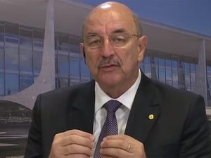 Ministro do Desenvolvimento Social e Agrário, Osmar Terra (Foto: RBS TV/ Reprodução)