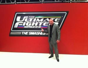Dana White celebra primeiro episódio do TUF: The Smashes (Foto: Reprodução / Twitter)