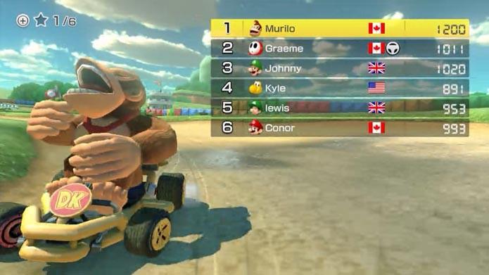 Mario Kart 8: dicas para mandar bem no modo online do game (Foto: Reprodução/Murilo Molina)