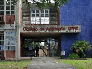 Colégio de Aplicação da UFPE, no Recife. (Foto: Katherine Coutinho / G1)