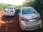 Localizados objetos de carros usados em assaltos a bancos em Miraguaí
