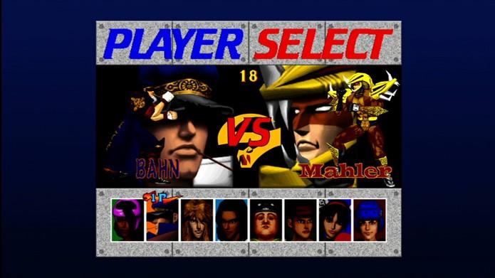 Fighting Vipers tinha Sonic secreto (Foto: Divulgação/Sega)