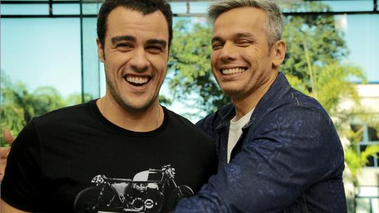 Dia do Amigo: Otaviano Costa e Joaquim Lopes fazem teste de amizade