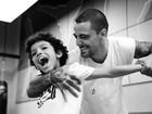 'Somos parecidos. Do cabelo duro a dislexia', diz Felipe Titto sobre o filho