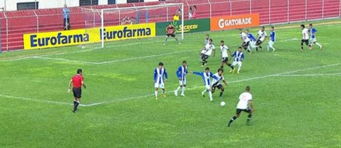 Consendey e Vitor falta ensaiada Vasco (Foto: Reprodução SporTV)