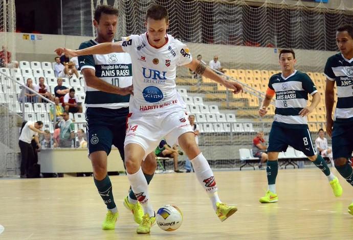 Atlântico Erechim Goiás Taça Brasil Futsal (Foto: Henrique Porto/Agência Avante!)