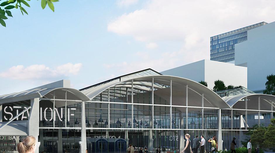 Station F terá até apartamentos para empreendedores (Foto: Divulgação)