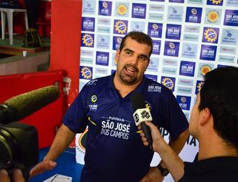 Cristiano Ahmed São José Basquete (Foto: Danilo Sardinha/GloboEsporte.com)