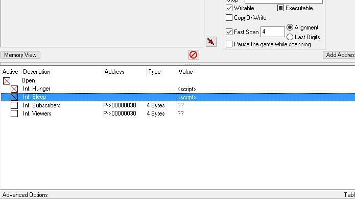 Você pode usar códigos em Youtubers Life usando o Cheat Engine (Foto: Reprodução/Tais Carvalho)