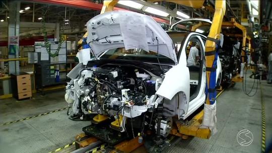 Indústria automobilística do Sul do Rio impulsiona superavit na economia