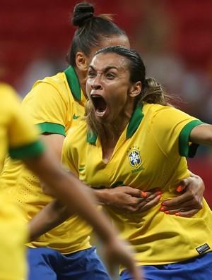Marta comemora contra os Estados Unidos
